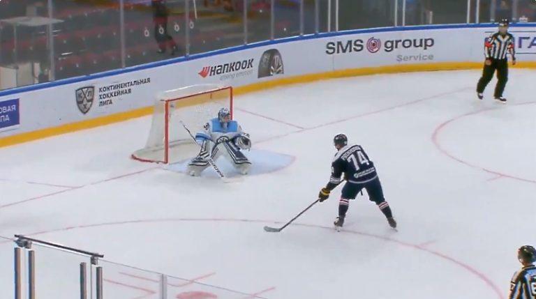 Video: Nikolai Prokhorkin tehtaili fantastisen rankkarin KHL-harjoitusottelussa