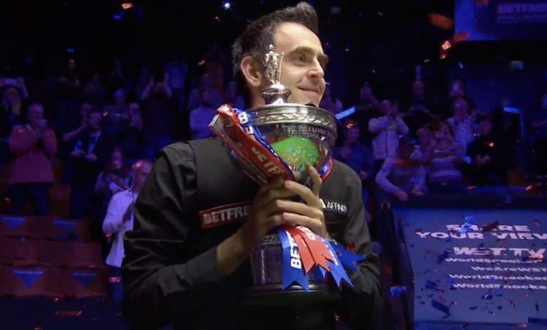 Ronnie O'Sullivan on snookerin maailmanmestari vuosimallia 2020!