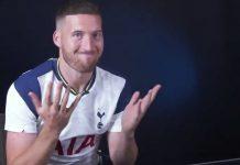 Tottenham Matt Doherty / Pallomeri.net