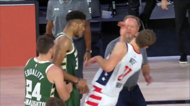Video: Bucks-tähti törttöili NBA:ssa – täysin idioottimainen ulosajo