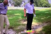 Video: PGA Tourin golfarilla on ainakin pokkaa - vetosi tuomariin saadakseen siirtää palloaan muurahaisten takia