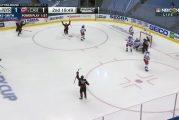 Video: Andrei Svechnikov ampui mielettömän laserin - Sebastian Aho ja Sami Vatanen syöttökoneina