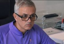 Jose Mourinhon reaktio / Pallomeri.net