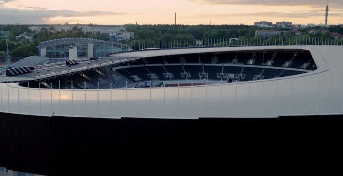 olympiastadionilla