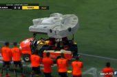 Video: Xolos antaa vaivaisille erityiskyydityksen - Star Wars -kärry noutaa loukkaantuneet pelaajat pois kentältä