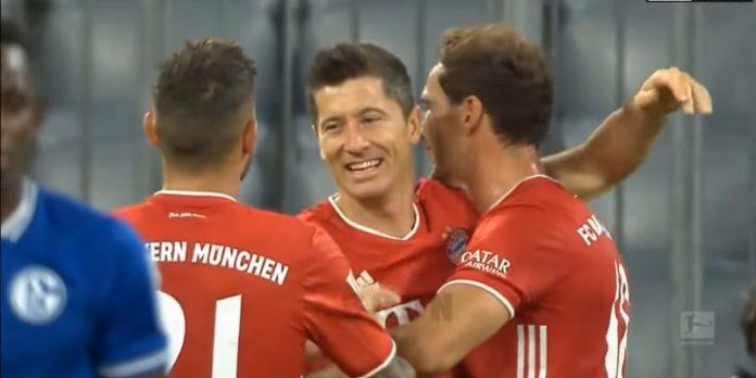 Bayern München Bundesliiga Robert Lewansowski - pallomeri.net