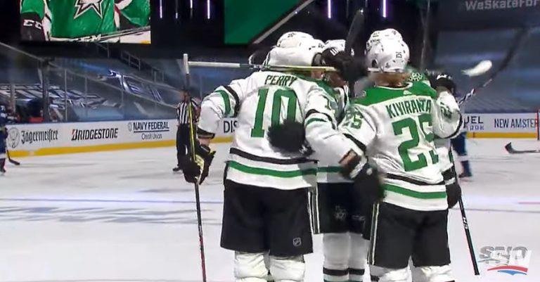 Video: Joel Kiviranta osui jälleen! – Dallas vei Stanley Cup -finaaliavauksen
