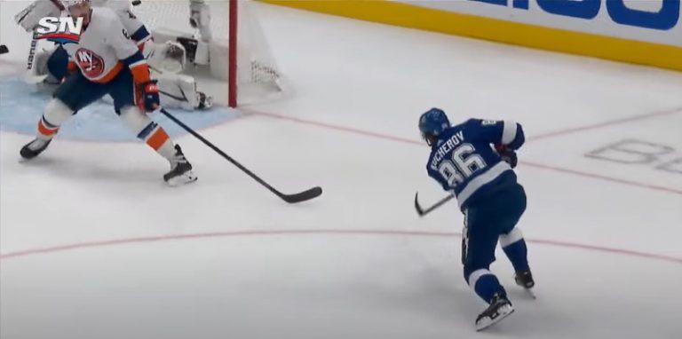 Video: Nikita Kucherov iski voittomaalin 8 sekuntia ennen loppua