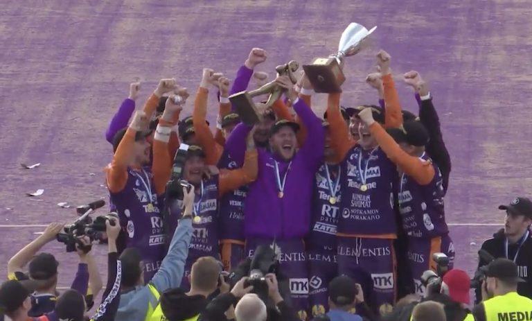 Sotkamon Jymy on pesäpallon Suomen mestari vuosimallia 2020!
