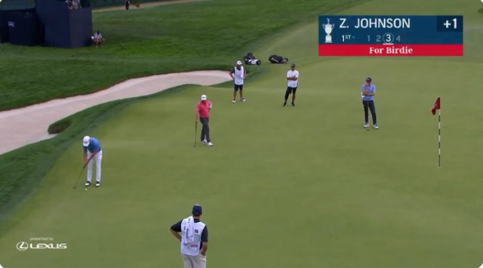 Zach Johnson putti US Open golf - pallomeri.net