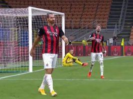 Zlatan Ibrahimovic AC Milan - pallomeri.net