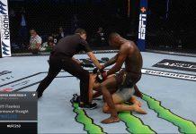 UFC-mestari Isreal Adesanya / Pallomeri.net