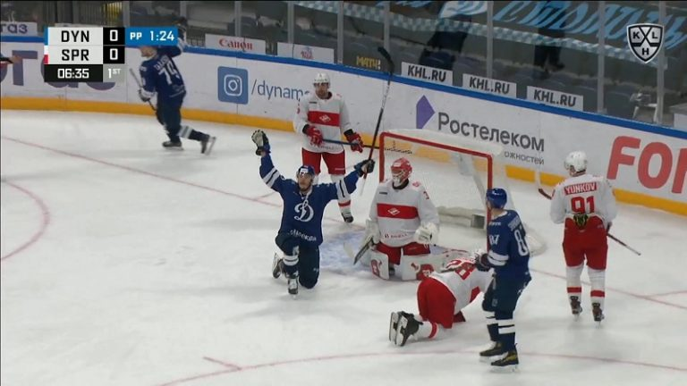 Video: Dmitrij Jaskin antoi KHL:ssä näytteen täydellisestä sijoittumisesta – teki maalin tyylikkäällä nenäohjauksella