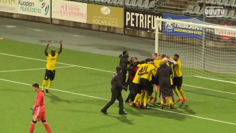 KuPS nappasi huikean voiton – Eurooppa-liigan lohkovaihe on enää yhden voiton päässä