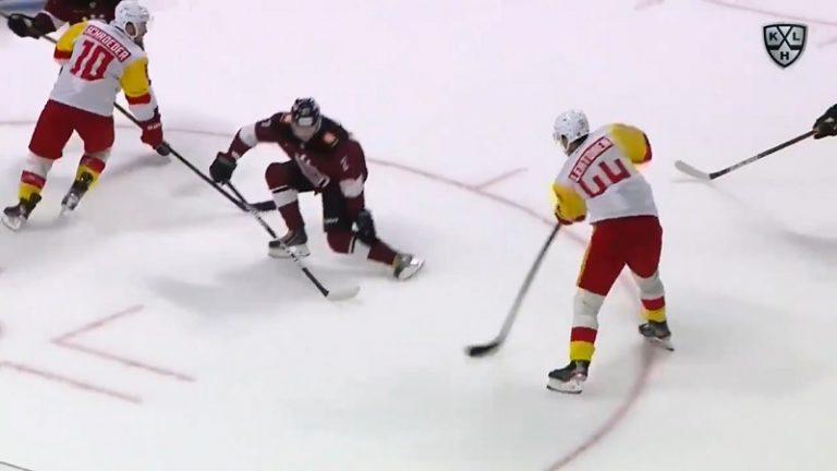Video: Jokerit avasi KHL-sesongin voitolla – Mikko Lehtonen kiskaisi häkin kauniilla kudilla