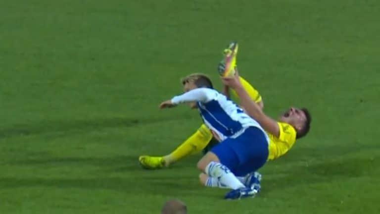 Video: Ilveksen Janne Saksela loukkaantui vakavasti – nilkka vääntyi ja murtui useammasta kohdasta