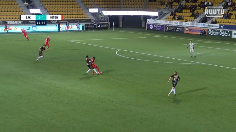 Video: Interin pakit sulivat prässin alla – SJK kiitti töhöilystä ja iski kaksi samanlaista lahjamaalia