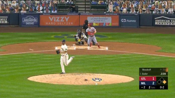 Brandon Woodruff Milwaukee Brewers MLB / Pallomeri.net