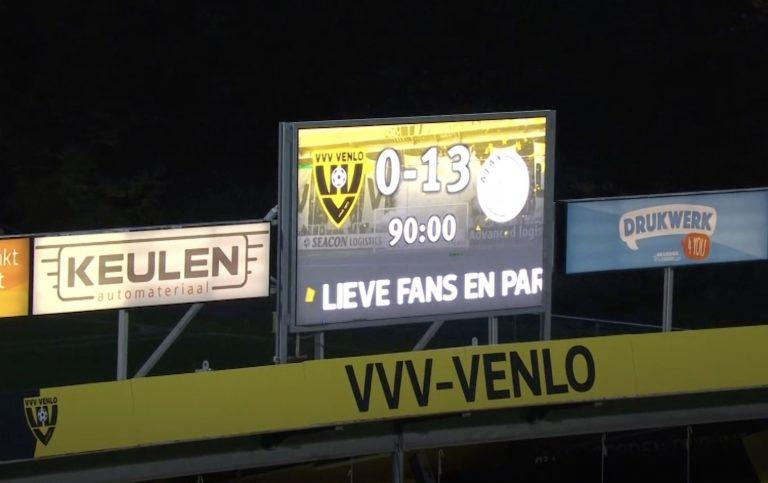 Video: Ajax järjesti historialliset murskajaiset Hollannissa – tilastot hurjaa luettavaa