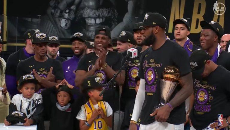 Video: LA Lakers vei NBA-mestaruuden – LeBron James hääri ratkaisufinaalin hahmona