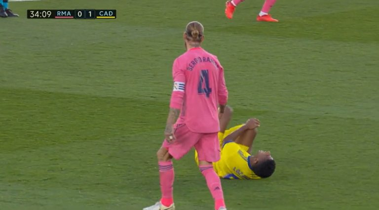 Video: Real Madridille shokkitappio – Sergio Ramosilta älytöntä sikailua