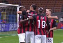 Zlatan Ibrahimovic AC Milan Serie A - pallomeri.net