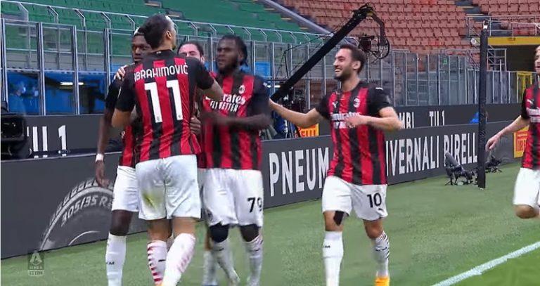 Video: Huikea paluu tositoimiin! – Zlatan Ibrahimovic Milanon derbyn sankari