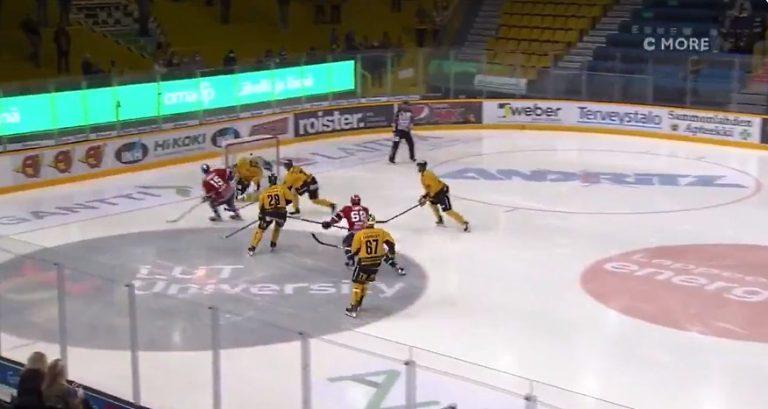 Video: HIFK:n Anton Lundell sinetöi hatullisen fantastisella tavalla