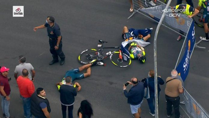 Giro d'Italia 2020 onnettomuudet / Pallomeri.net