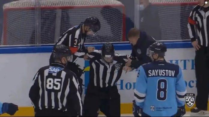 KHL linjatuomari / Pallomeri.net
