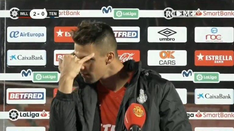 Video: Mallorca-pelaaja pisti shown pystyyn – ei tajunnut olevansa suorassa lähetyksessä