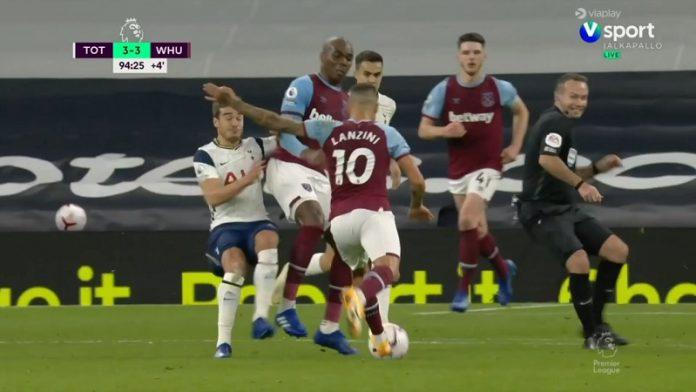 Manuel Lanzini West Ham / Pallomeri.net