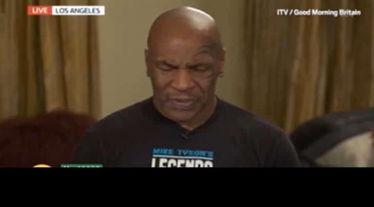 Video: Mike Tysonin tv-haastattelu hämmensi – mestari sammalsi ja vaikutti väsyneeltä
