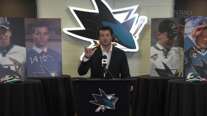 San Jose Sharks varaa Ozzy Wiesblattin / Pallomeri.net
