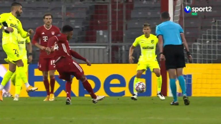 Video: Mestarien liigassa fantastinen osuma – Bayernin Corentin Tolisso kajautti tajuttoman pommin yli 20 metristä