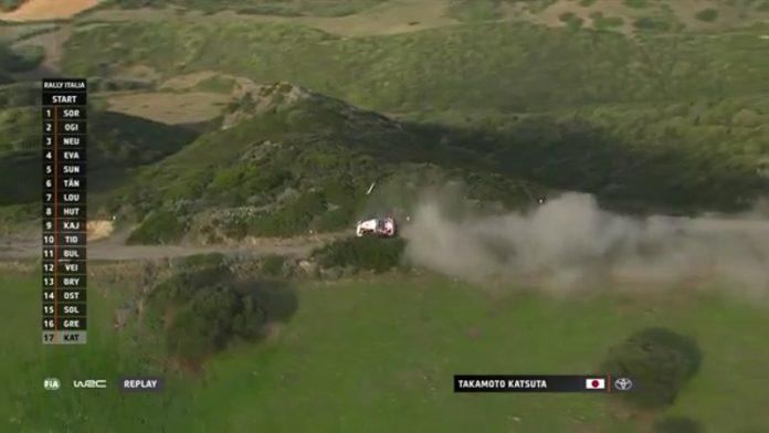 Takamoto Katsuta WRC Sardinia / Pallomeri.net