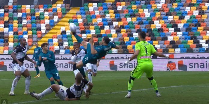 Zlatan Ibrahimovic AC Milan Serie A Udinese - pallomeri.net