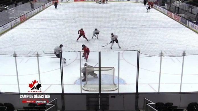 Kirby Dach Kanada Chicago Blackhawks / Pallomeri.net