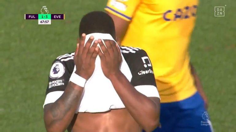 Video: Fulham-pelurille kävi hassusti – liukastui ja kajautti pilkun koomisesti taivaisiin