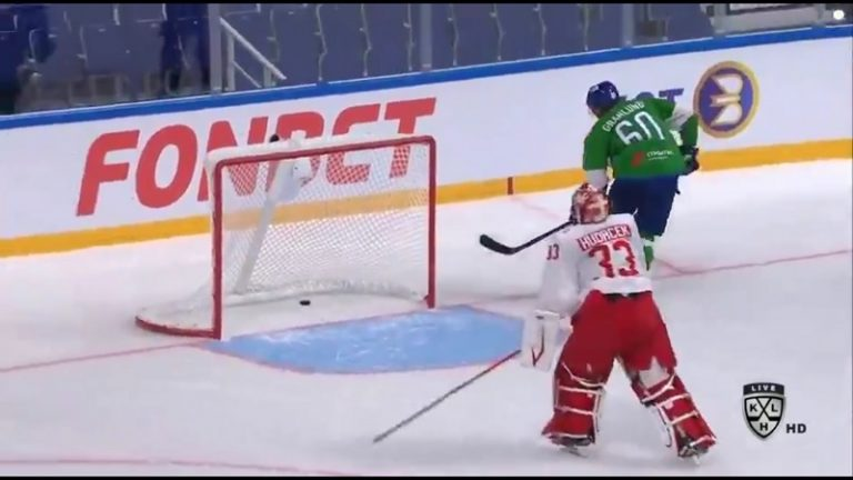 Video: Markus Granlund tylytti Spartak-veskaria – heitti kaksi jäätävää suoritusta rankkarikisaan