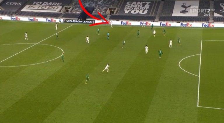 Video: Tottenhamin Harry Winks tekaisi upean osuman lähes puolesta kentästä