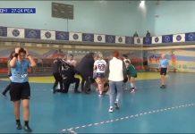 ukraina naisten käsipallo joukkokahakka / Pallomeri.net