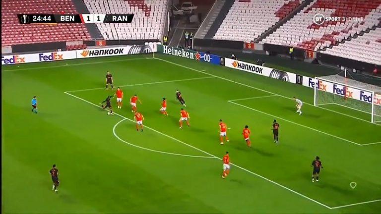 Video: Glen Kamara maalasi Eurooppa-liigassa – yli vuoden maaliton putki katkesi komealla laakilla 16 metristä