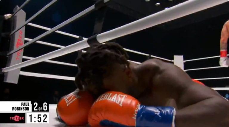 Video: Mike Tysonin matsi jäi sivurooliin – YouTube-tähden tyrmäys säväytti Staples Centerissä