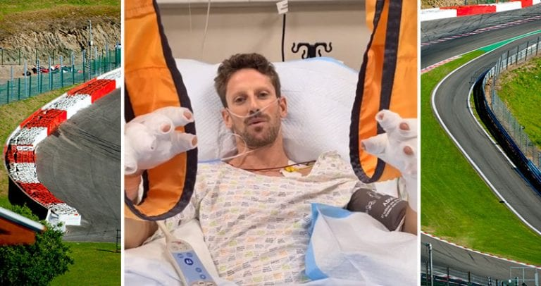 Video: Hurjasta kolarista selvinnyt Romain Grosjean lähetti videoterveiset sairaalavuoteeltaan