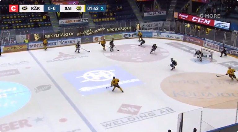 Video: Kauden onnekkain epäonnistuminen? – SaiPa kaatoi Kärpät erikoisella osumalla