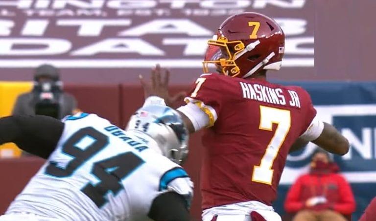 Washingtonin NFL-pelinrakentaja Dwayne Haskins sai potkut – taustalla uskomatonta sekoilua