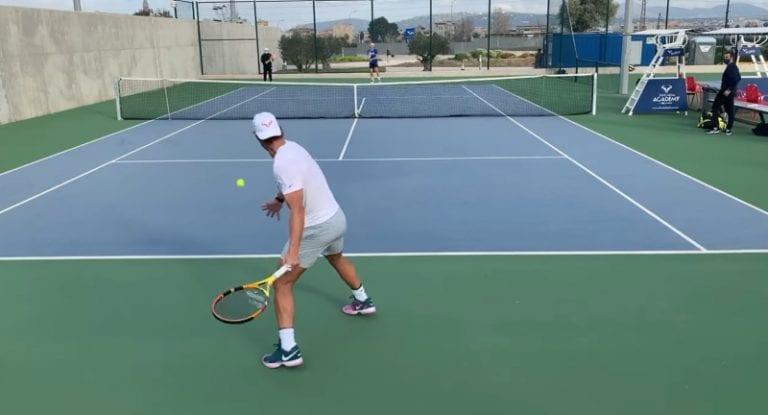 Video: Emil Ruusuvuori ja Rafael Nadal treenasivat yhdessä Mallorcalla