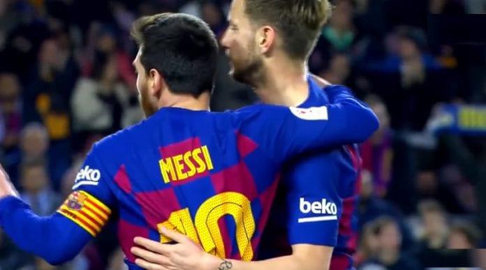 Leo Messi Barcelona La Liga UCL Mestarien liiga - pallomeri.net