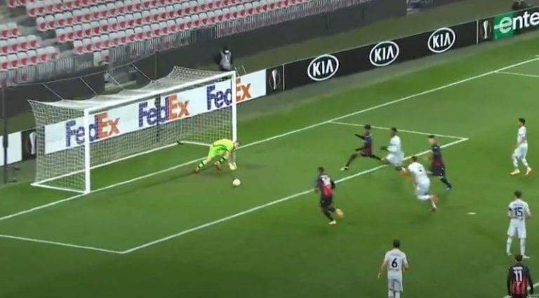 Video: Lukas Hradeckylle sattui lapsus – Leverkusen kuitenkin voittoon
